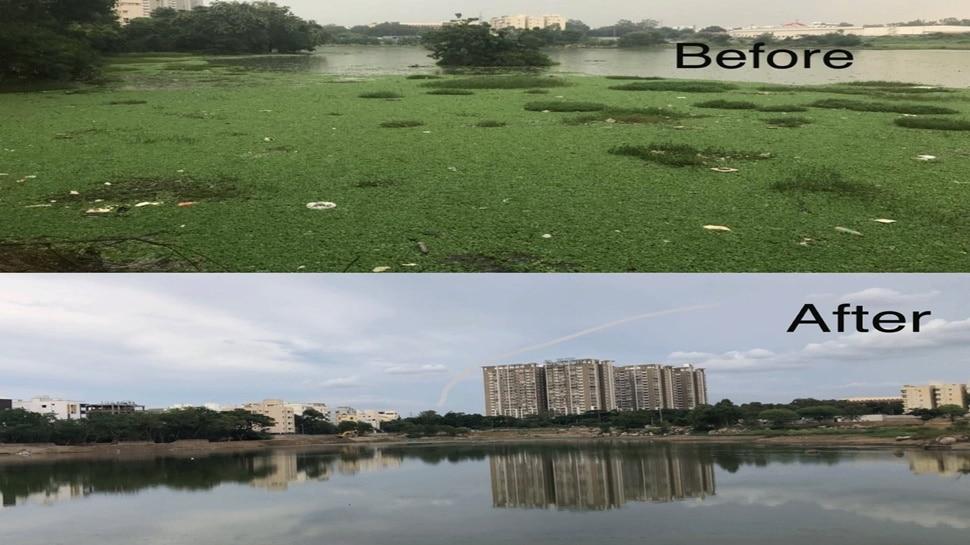 हैदराबाद के स्कूल ने झील को बचाने के लिए किया ऐसा काम, हर कोई कर रहा तारीफ