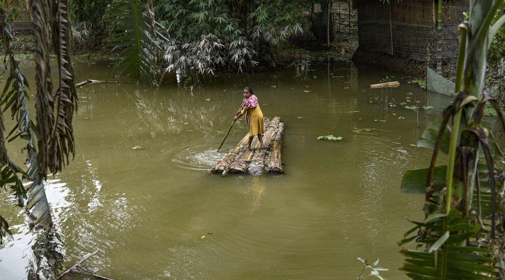 असम और बिहार में बाढ़ से राहत नहीं, हिमाचल प्रदेश में आंधी-तूफान की चेतावनी