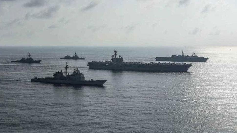 South China Sea मुद्दे पर अमेरिका के साथ विवाद गहराया, चारों तरफ से घिरा चीन - Zee News Hindi