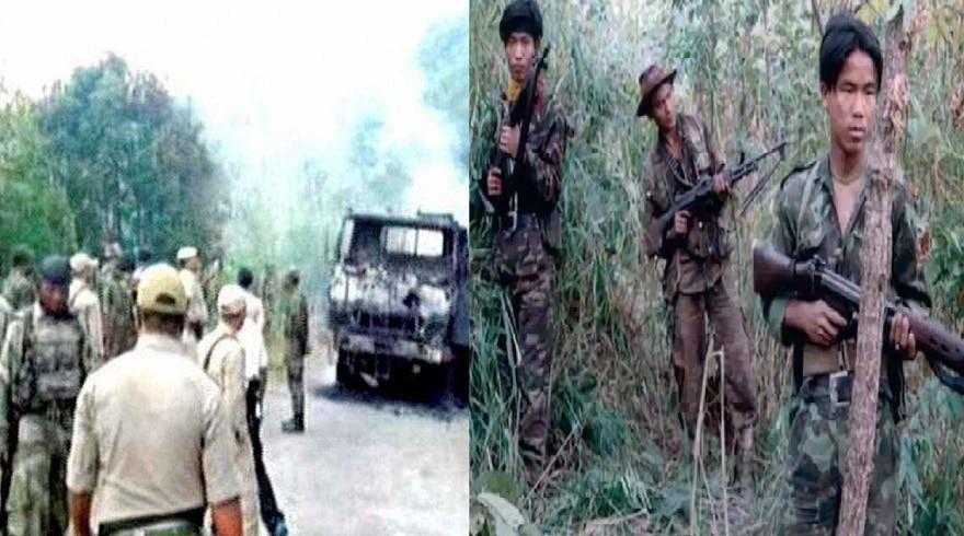 मणिपुर में उग्रवादियों ने सेना पर किया हमला, 3 जवानों को वीरगति
