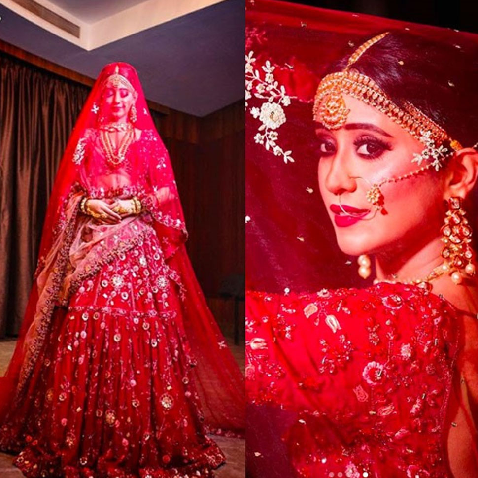 Shivangi Joshi bridal pictures See Photoshoot