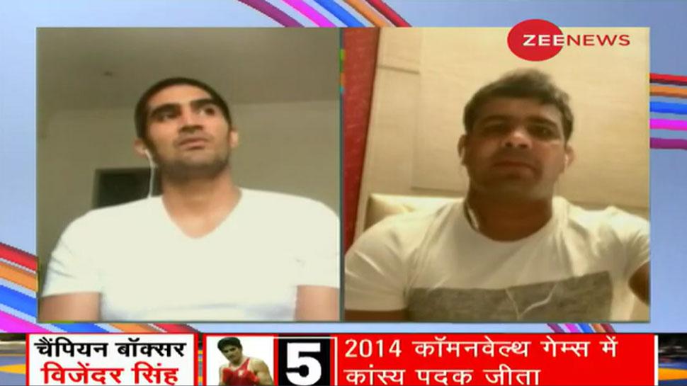 Exclusive: विजेंदर सिंह ने कहा, 'सुशील को जन्म तो दूसरी मां ने दिया है लेकिन वो मेरा भाई है'