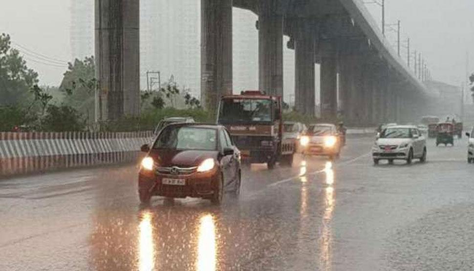 दिल्ली-एनसीआर में सुहाना है मौसम, आज और कल भी सामान्य बारिश का अनुमान