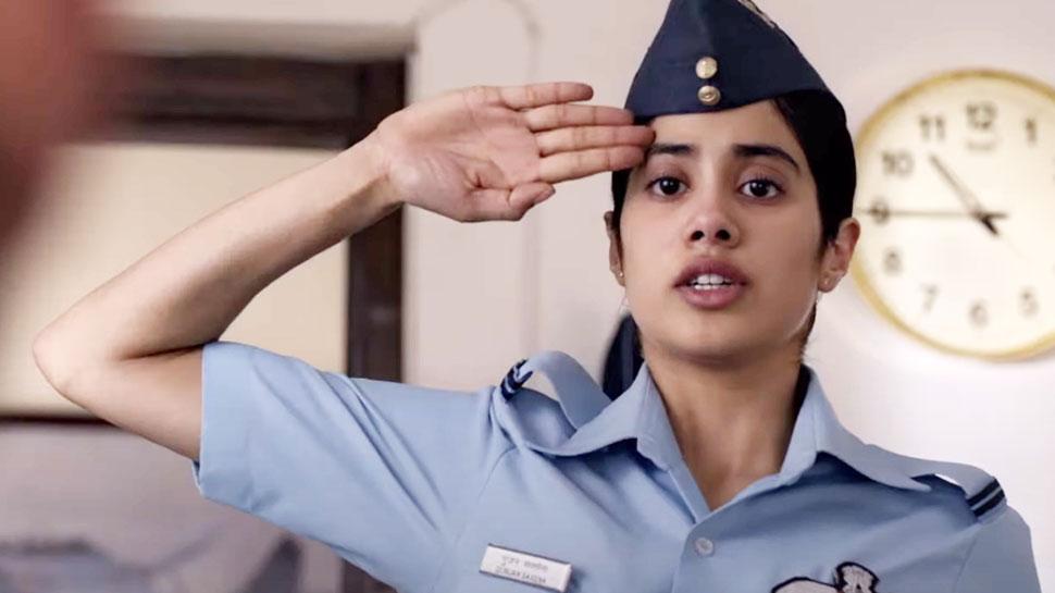 जबरदस्त है Janhvi Kapoor की 'गुंजन सक्सेना: द कारगिल गर्ल' का ट्रेलर, देखें VIDEO