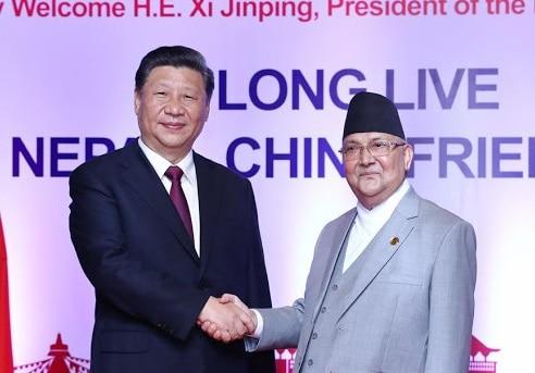 ओली-जिनपिंग भाई भाई, चीन से आवाज़ आई