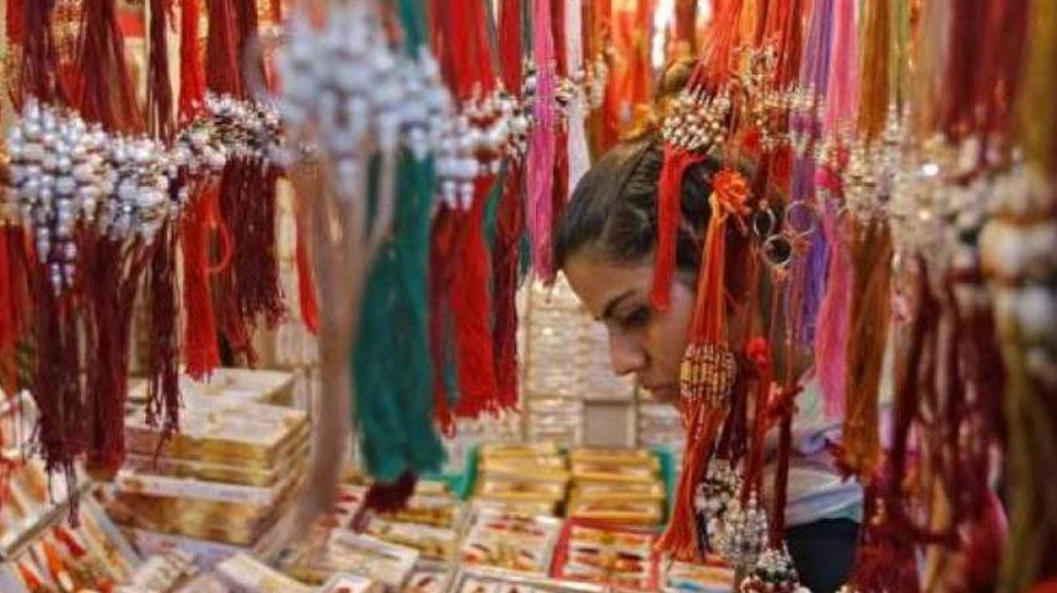 राजस्थान: राखी पर पड़ा कोरोना का 'साया', फिकी हुई बाजारों की रौनक