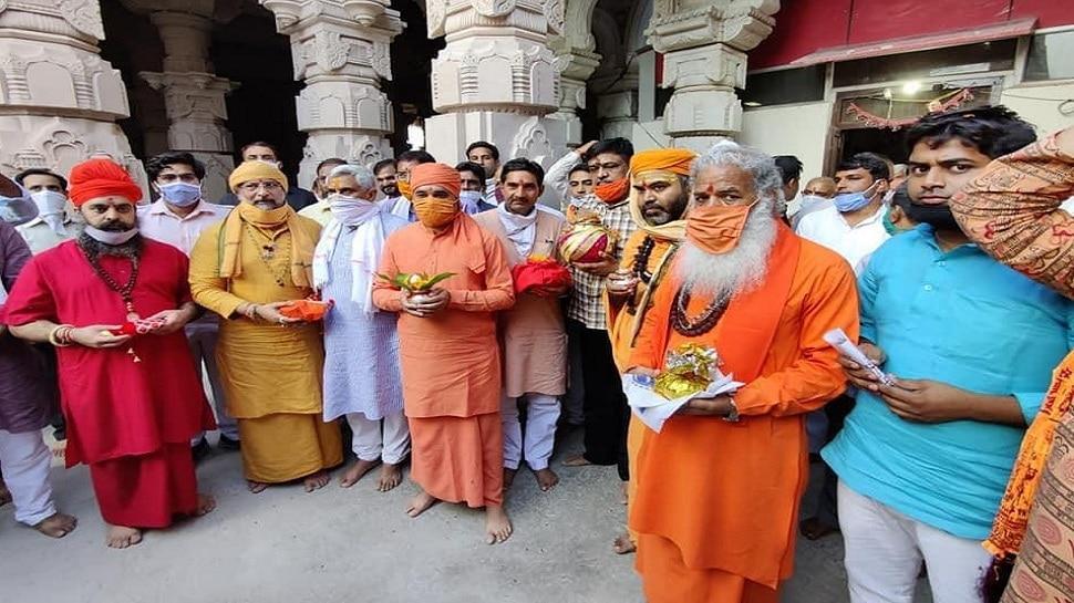Alwar MP Mahant Balak Nath will go to Ayodhya after taking the land of holy  land | पावन भूमि की रज लेकर अलवर सांसद महंत बालक नाथ जाएंगे अयोध्या | Hindi  News, राजस्थान