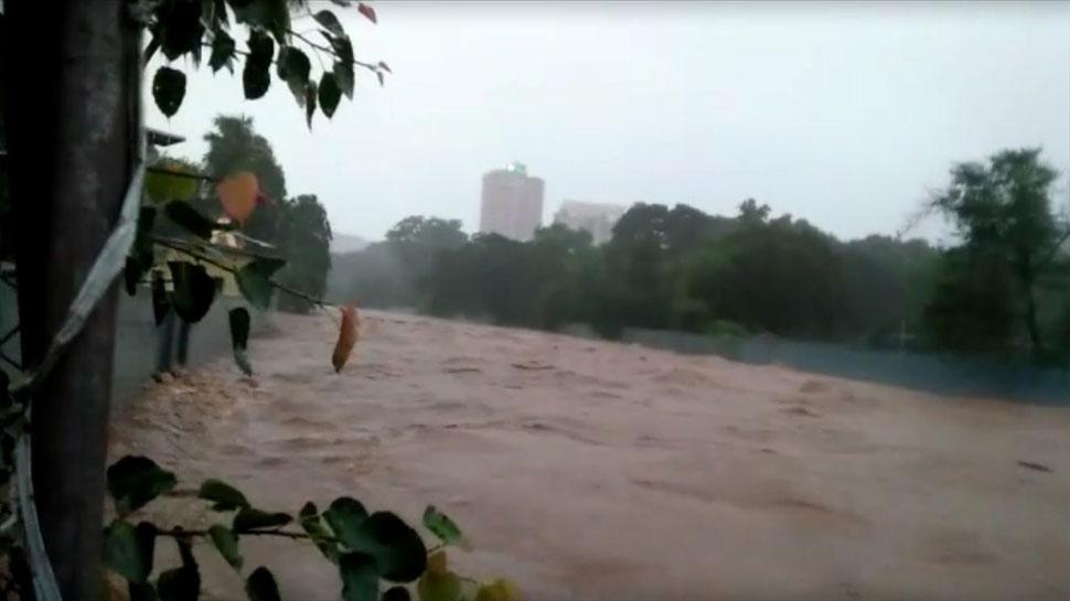 Mithi River at Sanjay Gandhi National Park in Mumbai