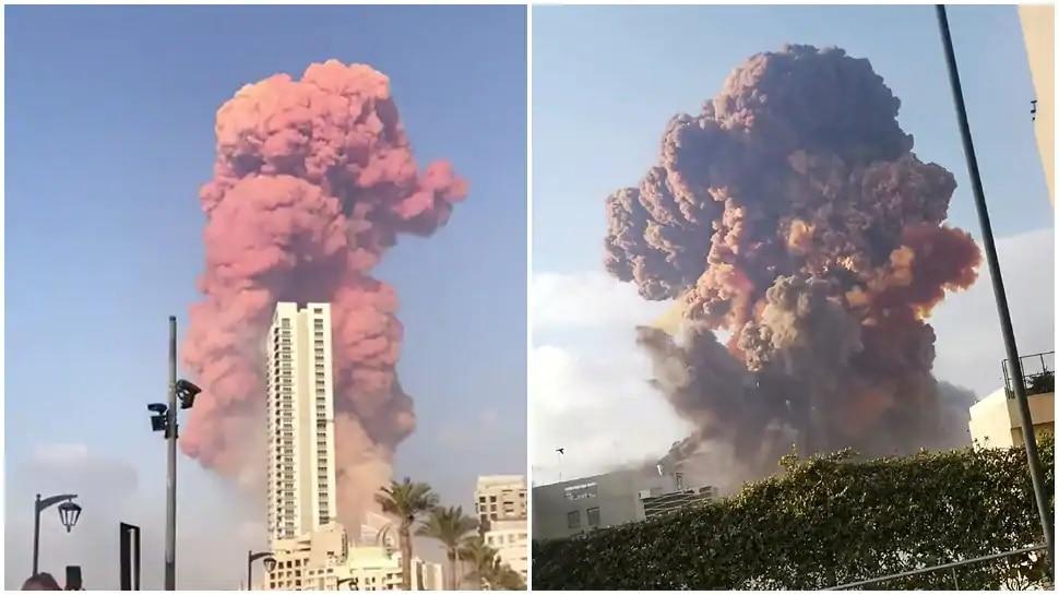 बेरूत विस्फोट: 100 लोगों की मौत, 4 हजार से ज्यादा घायल; अब भी उठ रहा धुआं