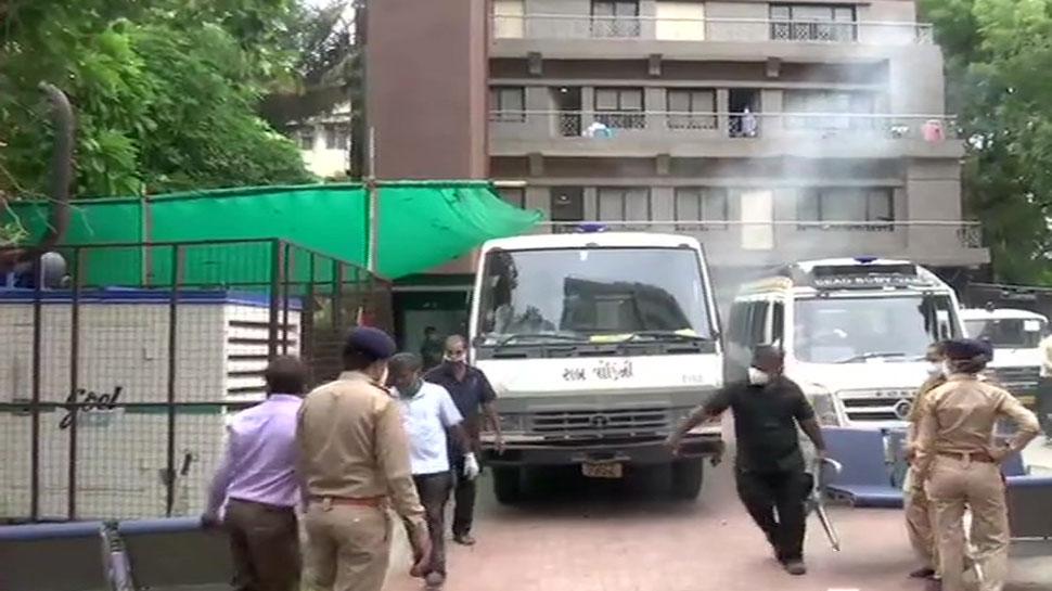 अहमदाबाद के COVID-19 अस्पताल में लगी आग, 8 कोरोना मरीजों की मौत