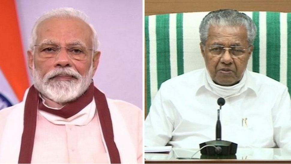 केरल विमान हादसा: PM मोदी ने केरल के CM पिनराई विजयन से की फोन पर बात