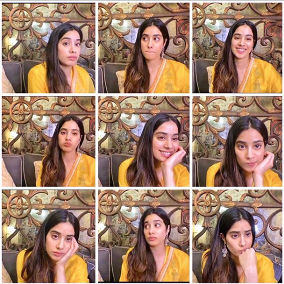 Janhvi Kapoor introduced her mood