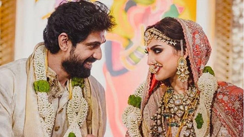 एक-दूजे के हुए राणा दग्गुबाती और मिहिका बजाज, देखिए शादी के फोटो और वीडियो
