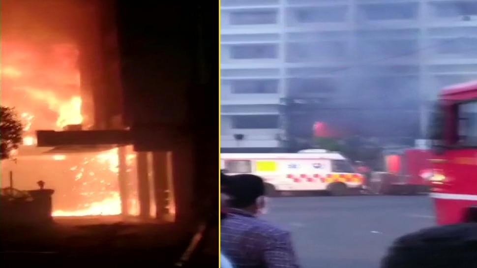 आंध्र प्रदेश: कोविड सेंटर में लगी आग, 7 लोगों की मौत, 10 ज़ख्मी