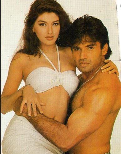 sunil shetty and sonali bendre love story