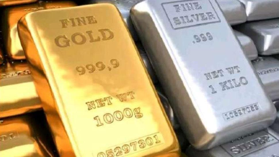 सोने की कीमतों में आई है भारी गिरावट, खरीदारी से पहले यहां जानें दस ग्राम का रेट