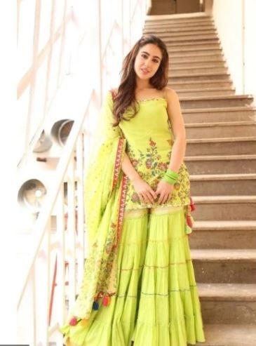 sara ali khan in ethnic wear
