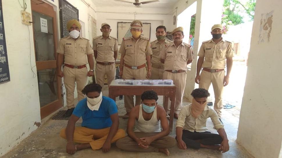 अनूपगढ़: अवैध हथियारों सहित तीन आरोपी गिरफ्तार, जल्द होगा गिरोह का पर्दाफाश