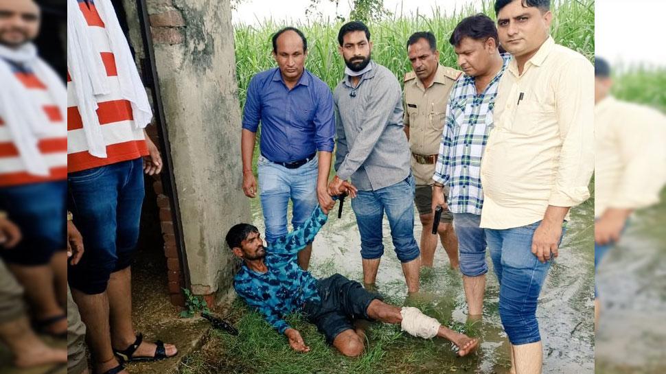 दुष्कर्म के आरोपी ने पर्ची में लिखा- 'पुलिस की गोली से नहीं अपनी मौत मरना चाहता हूं', अब मुठभेड़ में हुआ घायल