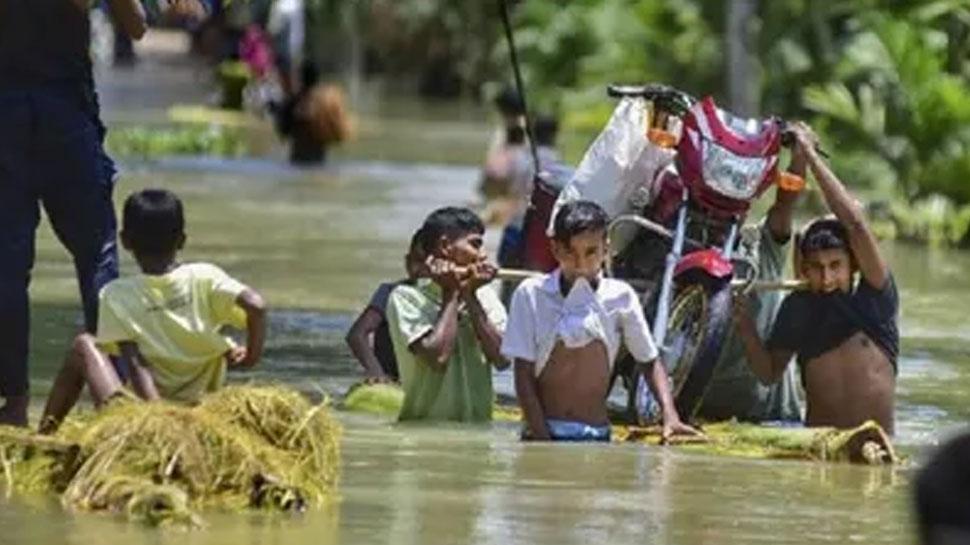 बिहार में बाढ़ का कहर जारी, 81 लाख लोग प्रभावित, 8 लाख हेक्टेयर फसल डूबी