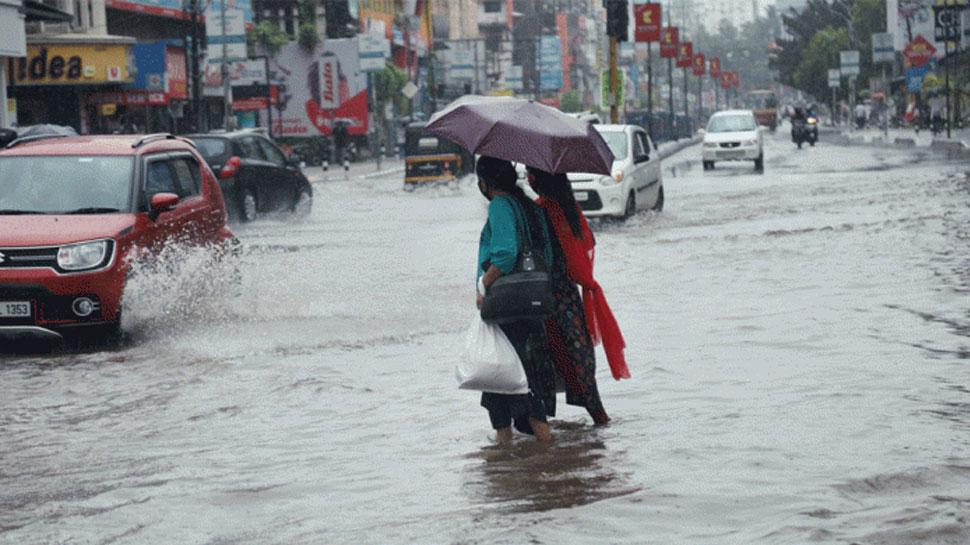 MP: आगामी 24 घंटों में भारी बारिश की चेतावनी, इन इलाकों में जारी किया गया रेड, ऑरेंज और येलो अलर्ट