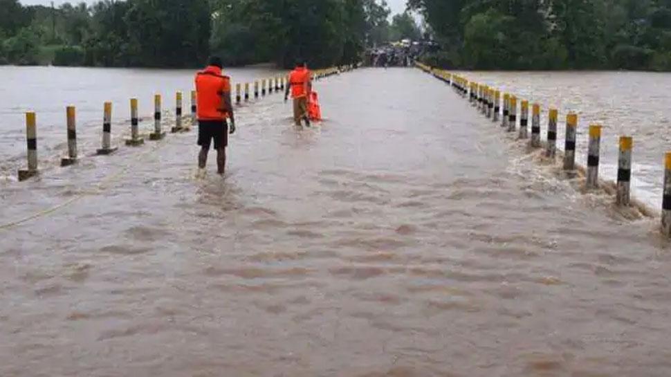 MP: खरगोन में भारी बारिश के कारण बने बाढ़ के हालात, 14 अन्य जिलों में भी येलो अलर्ट जारी
