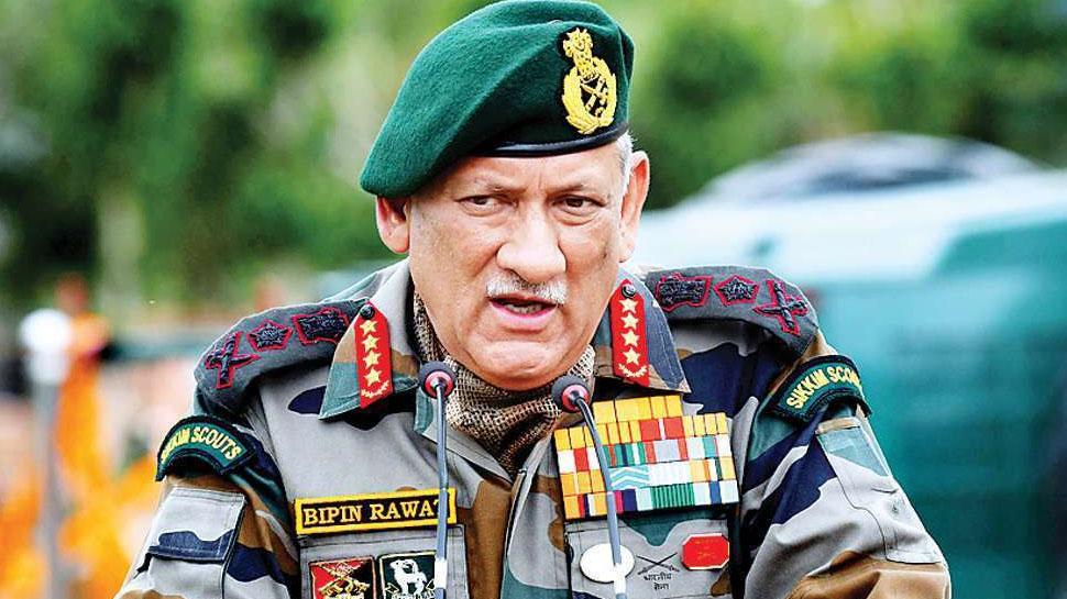 बातचीत नाकाम रही तो लद्दाख में सैन्य कार्रवाई का विकल्प मौजूद: CDS बिपिन रावत