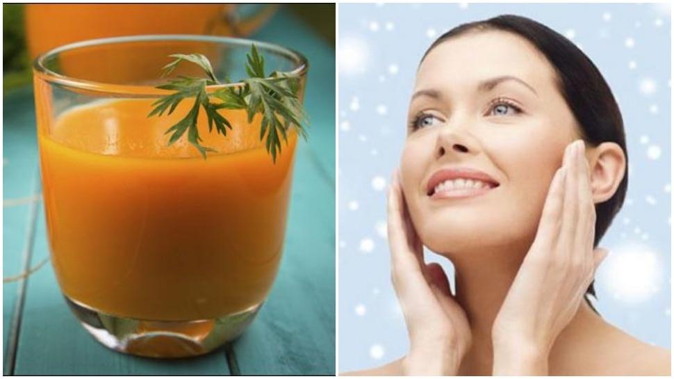 DIY Skin Care: त्वचा की चमक बढ़ाने के लिए चेहरे पर रोजाना लगाएं गाजर का जूस