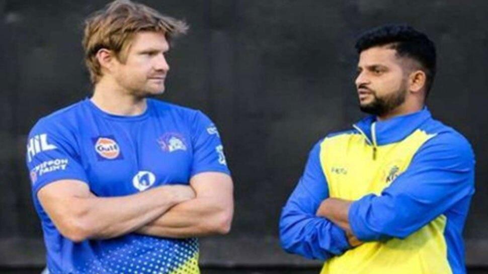 सुरेश रैना के IPL 2020 से बाहर होने पर इमोशनल हुए शेन वाटसन, VIDEO में कही ये बात