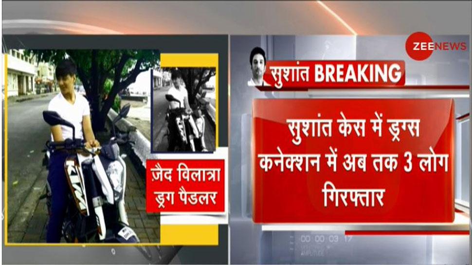 Sushant Case: NCB के हत्थे चढ़े 3 ड्रग्स सप्लायर, सामने आया शोविक का कनेक्शन