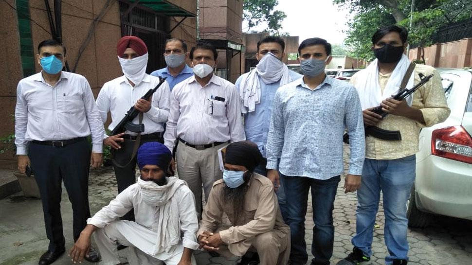 पंजाब-दिल्ली के बड़े नेताओं को मारने की साजिश, बब्बर खालसा के दो आतंकी गिरफ्तार