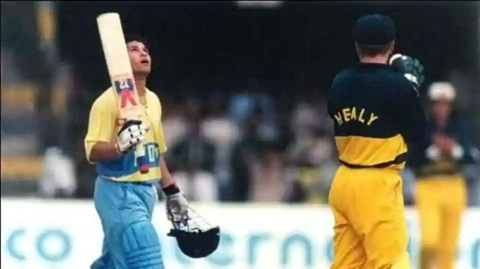 9 सितंंबर: जब 78 मैच के बाद सचिन के बल्ले से निकला था पहला वनडे शतक