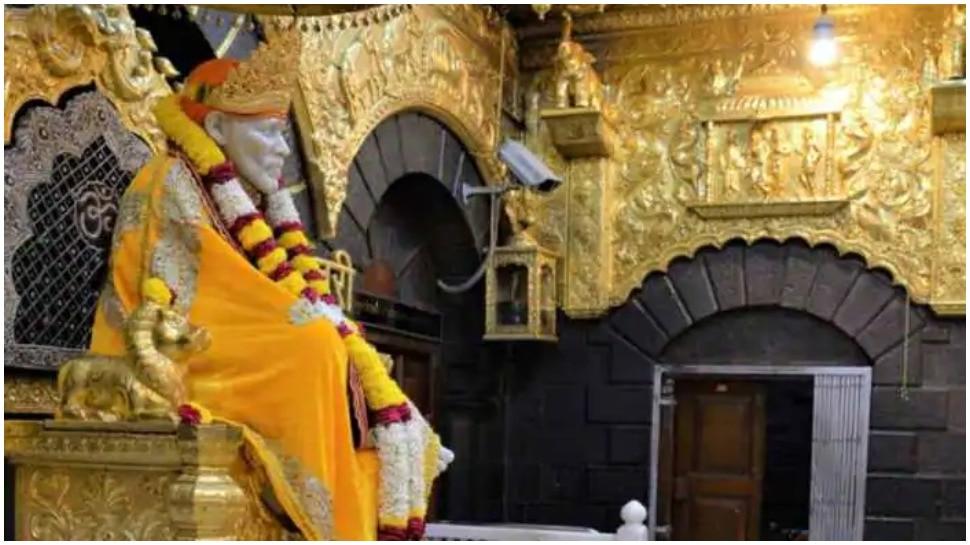 शिरडी के साईं बाबा मंदिर पर पड़ा कोरोना का असर, हुआ करोड़ों का नुकसान