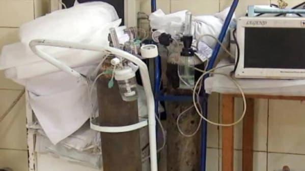 UP: मरीज के परिजन ने अस्पताल से जबरन छीना ऑक्सीजन सिलेंडर