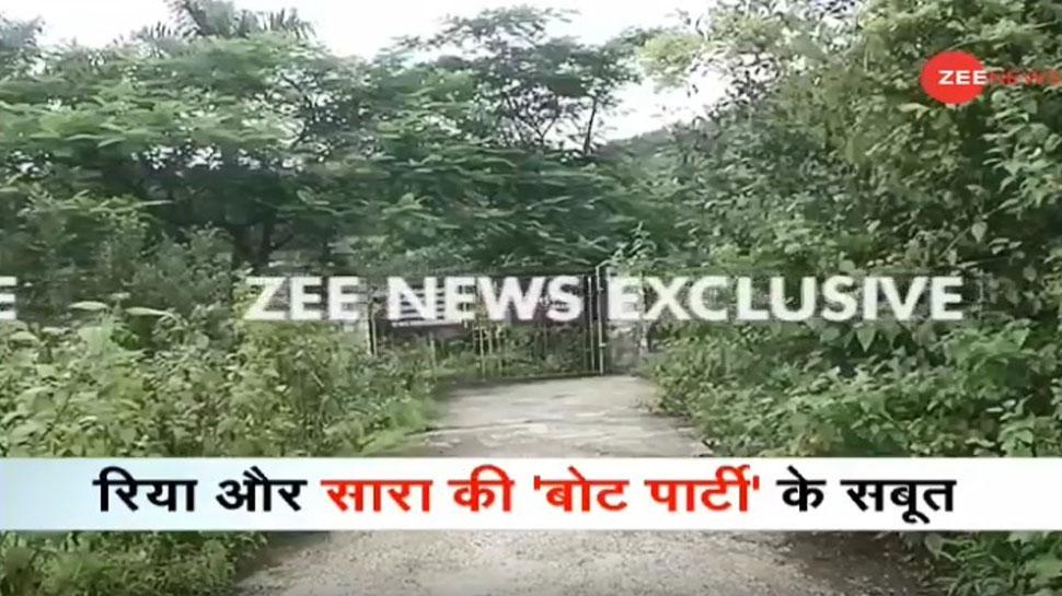 Sushant Case: रिया चक्रवर्ती और सारा अली खान की 'बोट पार्टी' पर बड़ा खुलासा