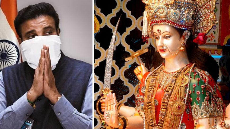 Karnataka minister writes a letter to goddess Durga, asks for blessings to  become deputy chief minister soon | इस मंत्री ने मां दुर्गा को लिख डाली  'चिट्ठी', मांगा डिप्टी CM बनने का