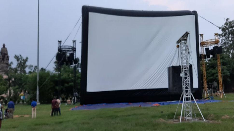 पटना: नीतीश कुमार करेंगे मेगास्क्रीन का उद्घाटन, लोग देख सकेंगे फिल्म-डॉक्यूमेंट्री