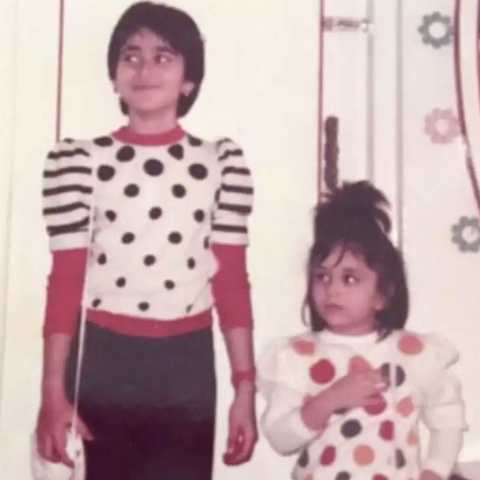 Kareena Kapoor Khan childhood pictures