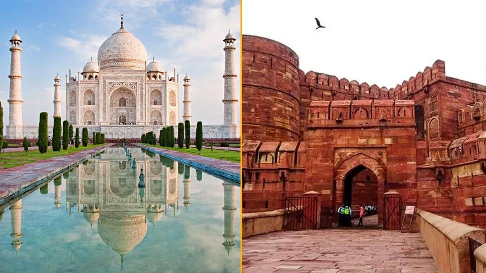 188 दिनों के बाद खुले ताज महल और आगरा किले के दरवाज़े, इन शर्तों पर मिलेगी एंट्री