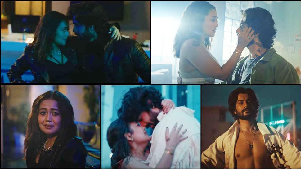 Neha Kakkar और Sunny Kaushal की रोमांटिक केमिस्ट्री ने मचाया धमाल, WATCH VIDEO