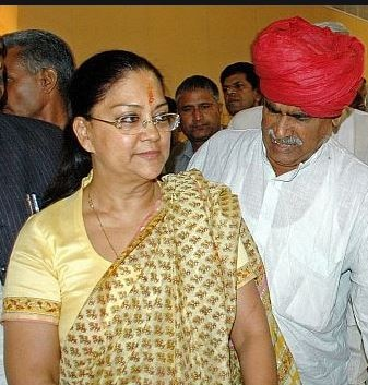 vasundhra raje and jaswant singh controversy