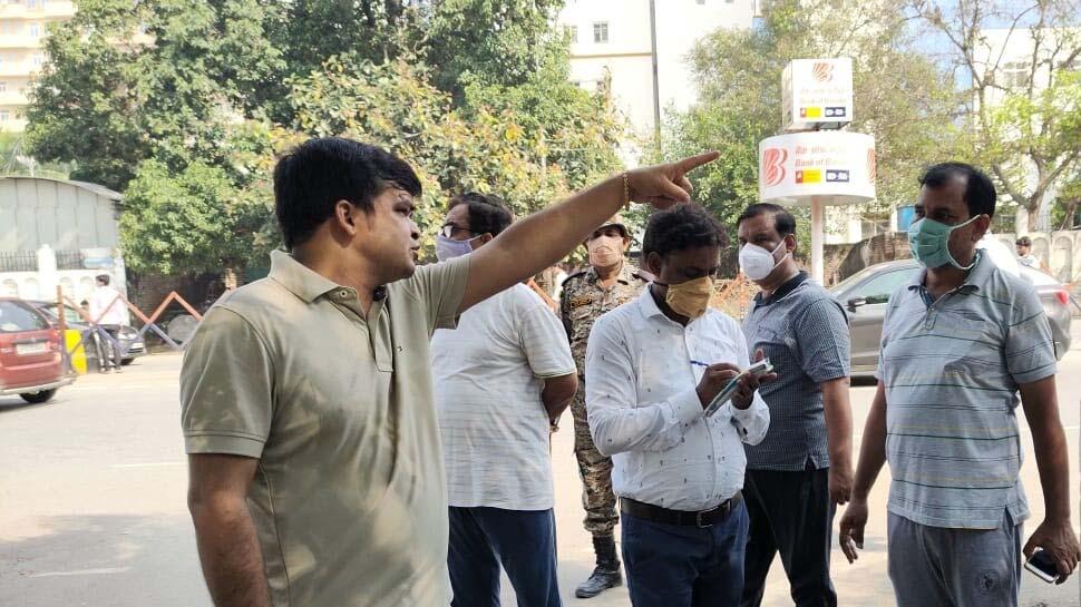 लखनऊ: गंदगी देख बिफरे नगर आयुक्त, दो अधिकारियों की लगाई क्लास