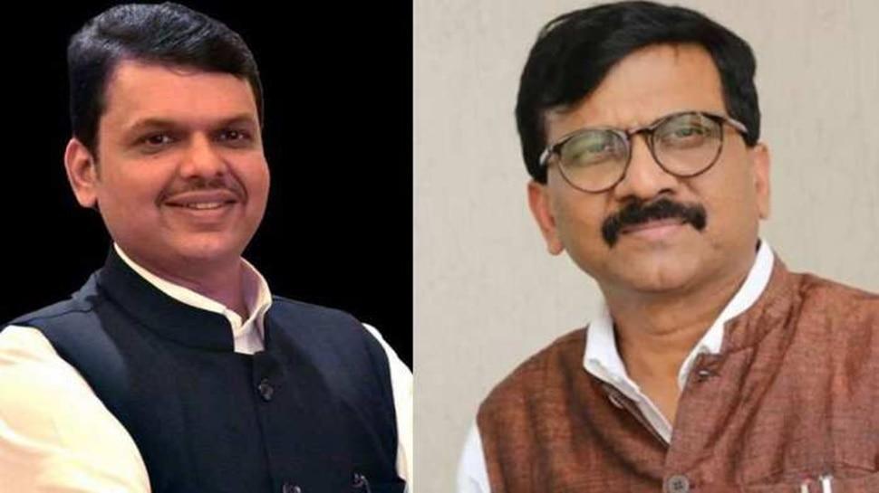 क्या महाराष्ट्र की सत्ता से बाहर होगी कांग्रेस? राउत से मुलाकात पर फडणवीस ने कही ये बात