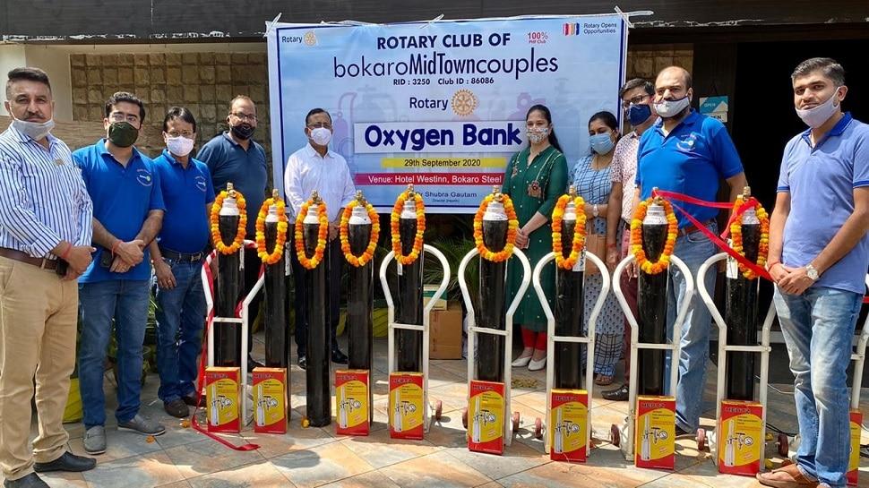 झारखंड: कोरोना से जीवन बचाने के लिए आगे आई संस्था, ऑक्सीजन बैंक की शुरुआत की