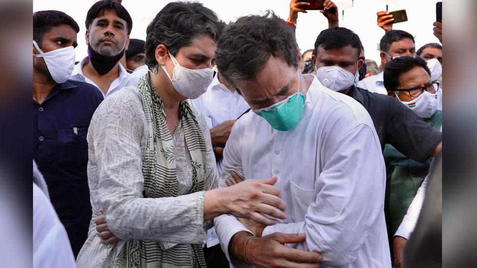 ग्रेटर नोएडा: गेस्ट हाउस से राहुल-प्रियंका को छोड़ा गया, वापस गए दिल्ली
