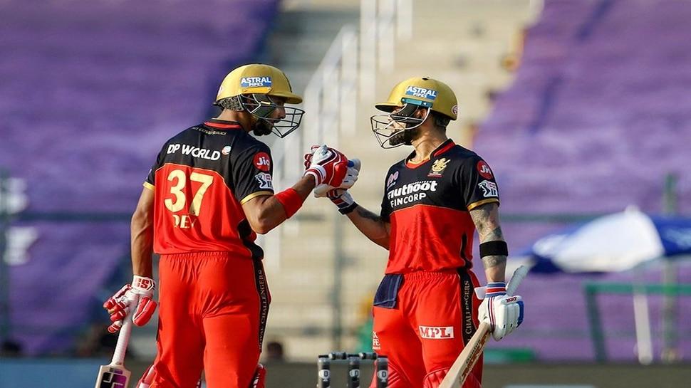RCB VS RR: कोहली-पडिक्कल का हिट शो, बैंगलोर ने राजस्थान को 8 विकेट से हराया