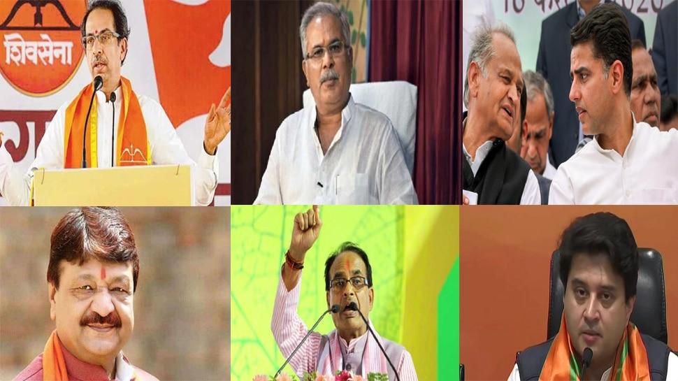 कांग्रेस के तीन मुख्यमंत्री करेंगे 28 सीटों पर प्रचार,बीजेपी स्थानीय नेता के सहारे