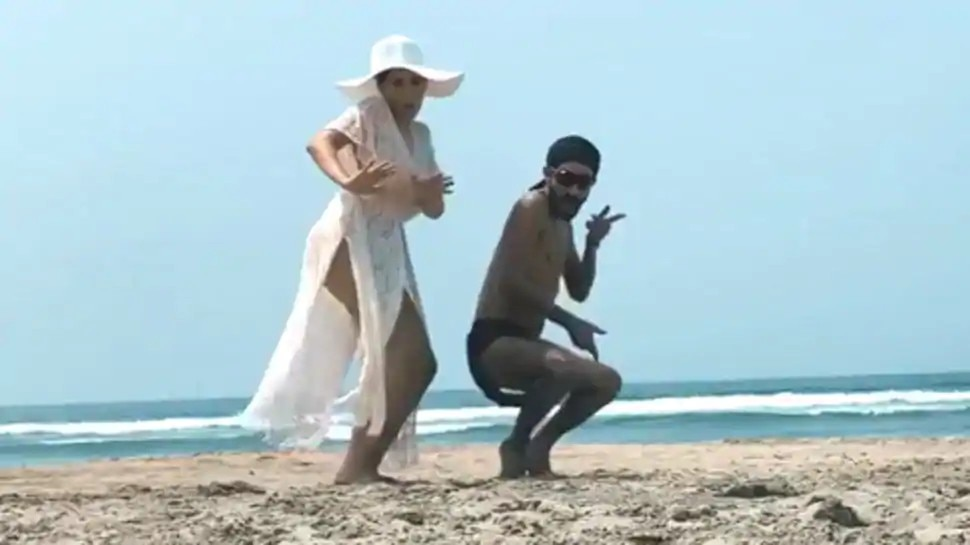 समुद्र किनारे नोरा फतेही ने किया जबरदस्त डांस, जमकर वायरल हो रहा वीडियो