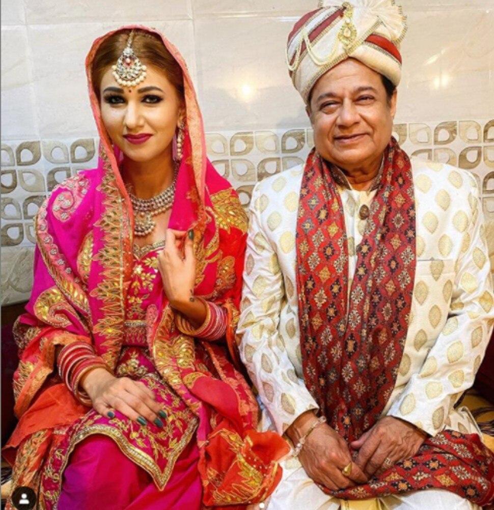 Jasleen Matharu in bridal dress