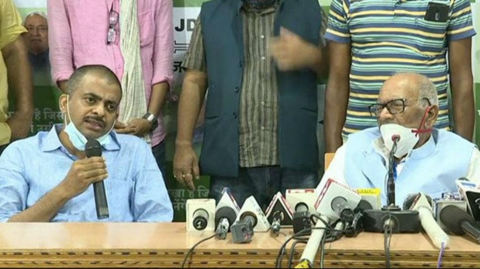 रघुवंश प्रसाद के बेटे ने साधा RJD पर निशाना, बोले- पार्टी बस नाम की समाजवादी